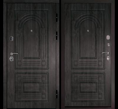 Входная дверь Флоренция Темный орех, цена 22,590 руб | Купить в интернет-магазине «Дверной Континент» в Новосибирске