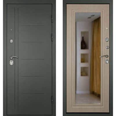 Входная дверь СИТИ-Z3К Беленый дуб, цена 19,490 руб | Купить в интернет-магазине «Дверной Континент» в Новосибирске