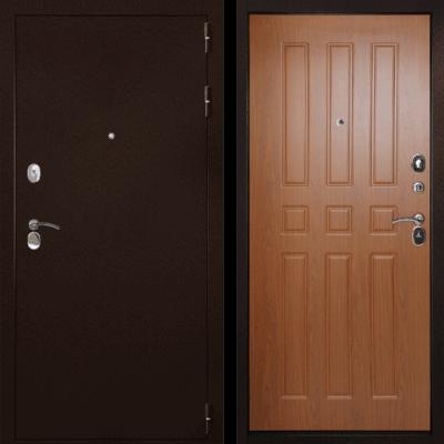 Входная дверь Гарант-100 3К Орех, цена 14,900 руб | Купить в интернет-магазине «Дверной Континент» в Новосибирске