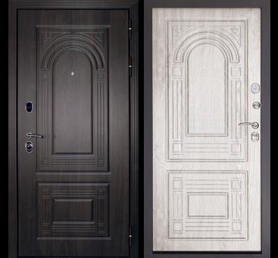 Входная дверь Флоренция Беленый дуб, цена 22,590 руб | Купить в интернет-магазине «Дверной Континент» в Новосибирске