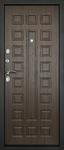 Входная дверь Сити-3К Венге, цена 19,490 руб | Купить в интернет-магазине «Дверной Континент» в Новосибирске