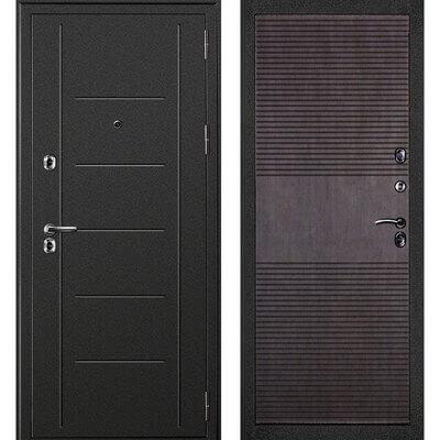 Входная дверь Термаль Венге, цена 25,990 руб | Купить в интернет-магазине «Дверной Континент» в Новосибирске