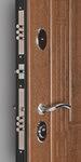 Входная дверь Флоренция Золотой дуб, цена 22,590 руб | Купить в интернет-магазине «Дверной Континент» в Новосибирске