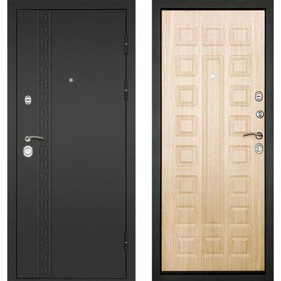 Входная дверь Сити-3К Беленый дуб, цена 19,490 руб | Купить в интернет-магазине «Дверной Континент» в Новосибирске