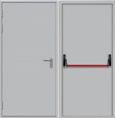 Дверь ПП 1, цена 9,800 руб | Купить в интернет-магазине «Дверной Континент» в Новосибирске