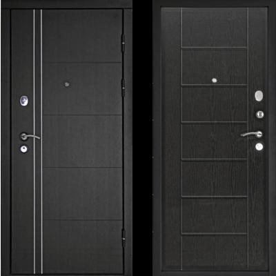 Входная дверь Тепло-Люкс Венге, цена 17,990 руб | Купить в интернет-магазине «Дверной Континент» в Новосибирске