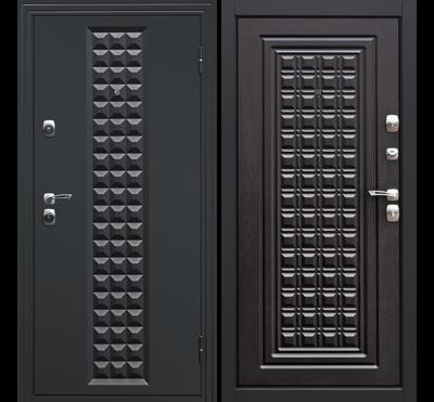 Входная дверь Контур Венге, цена 14,490 руб | Купить в интернет-магазине «Дверной Континент» в Новосибирске