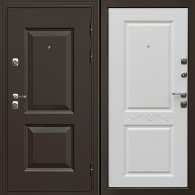 Входная дверь Гранд Матовый белый, цена 16,890 руб | Купить в интернет-магазине «Дверной Континент» в Новосибирске