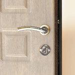 Входная дверь Люкс Беленый дуб, цена 12,900 руб | Купить в интернет-магазине «Дверной Континент» в Новосибирске