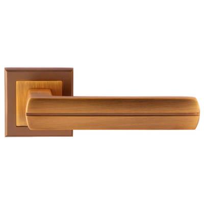 Дверная ручка Baza DCF-GP, цена 465 руб | Купить в интернет-магазине «Дверной Континент» в Новосибирске