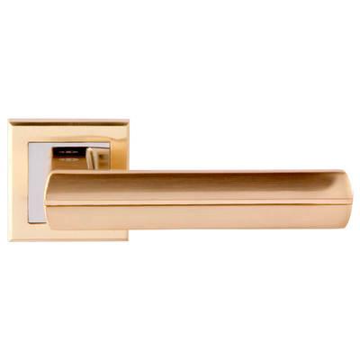 Дверная ручка Baza SG-CP, цена 465 руб | Купить в интернет-магазине «Дверной Континент» в Новосибирске