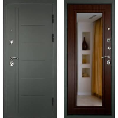 Входная дверь СИТИ-Z3К Венге, цена 19,490 руб | Купить в интернет-магазине «Дверной Континент» в Новосибирске