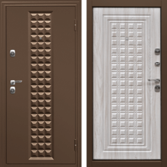 Входная дверь Контур Беленый дуб, цена        14,490руб руб    , купить в интернет-магазине «Дверной Континент»