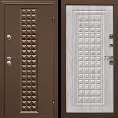 Входная дверь Контур Беленый дуб, цена 14,490 руб | Купить в интернет-магазине «Дверной Континент» в Новосибирске