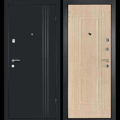Входная дверь Лайн-1 Беленый дуб, цена 13,150 руб | Купить в интернет-магазине «Дверной Континент» в Новосибирске