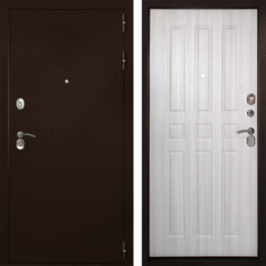 Входная дверь Гарант-100 3К Беленый дуб, цена        14,900руб руб    , купить в интернет-магазине «Дверной Континент»