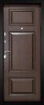 Входная дверь Милан Темный орех, цена 29,990 руб | Купить в интернет-магазине «Дверной Континент» в Новосибирске