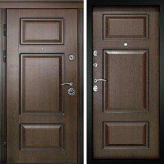 Входная дверь Милан Темный орех, цена        29,990руб руб    , купить в интернет-магазине «Дверной Континент»