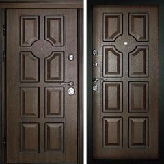 Входная дверь Порта Темный орех, цена        29,990руб руб    , купить в интернет-магазине «Дверной Континент»