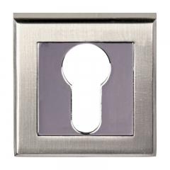 Декоративная накладка Quatro SN-CP, цена        122руб руб    , купить в интернет-магазине «Дверной Континент»